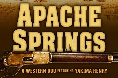 Apache Springs by Frank Leslie